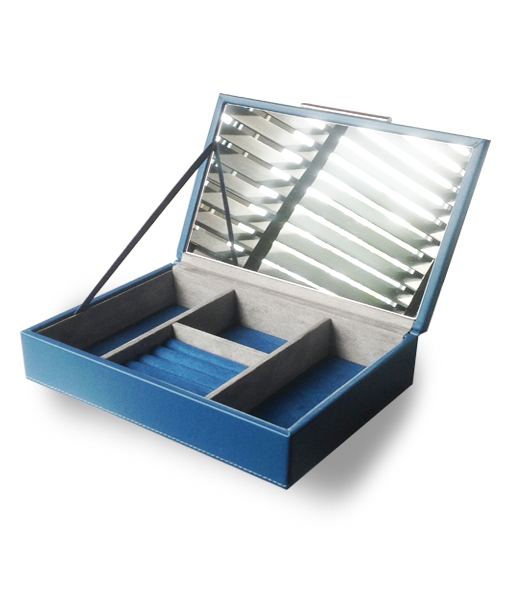 Acrylic Box John Lewis : John lewis large teal leatherette jewellery box finga nails