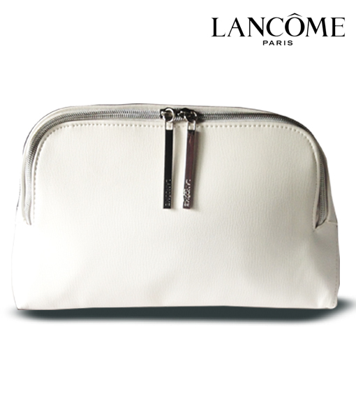 Lancôme Large White Cosmetic Bag
