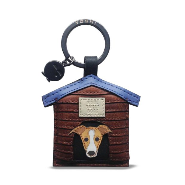 Leather Max The Dog Keyring by Yoshi