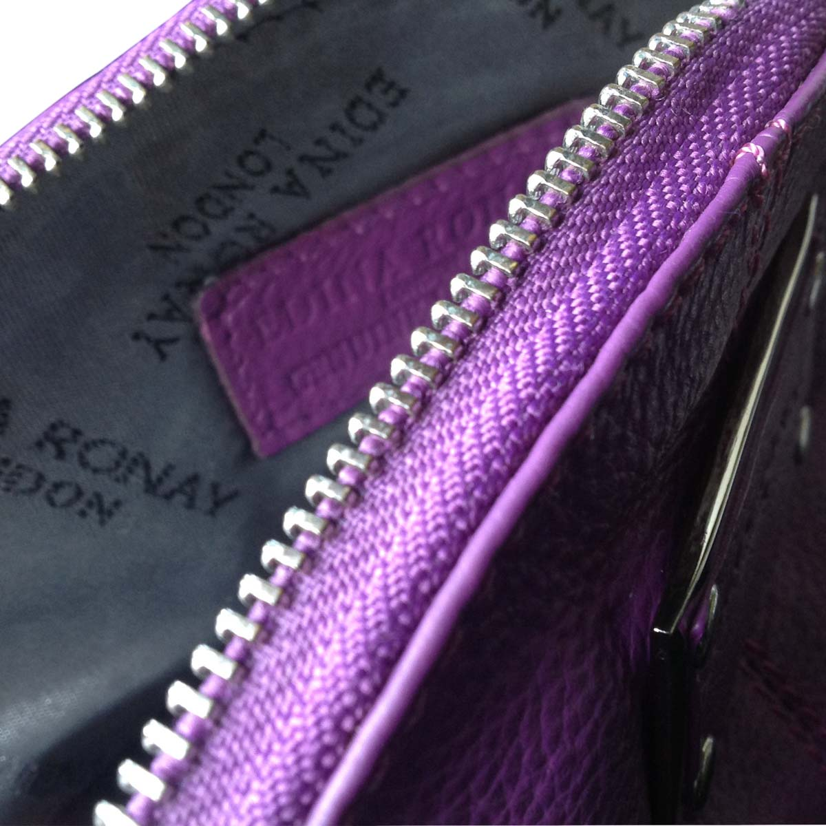 Edina Ronay Philippa Fuchsia Cosmetic Bag